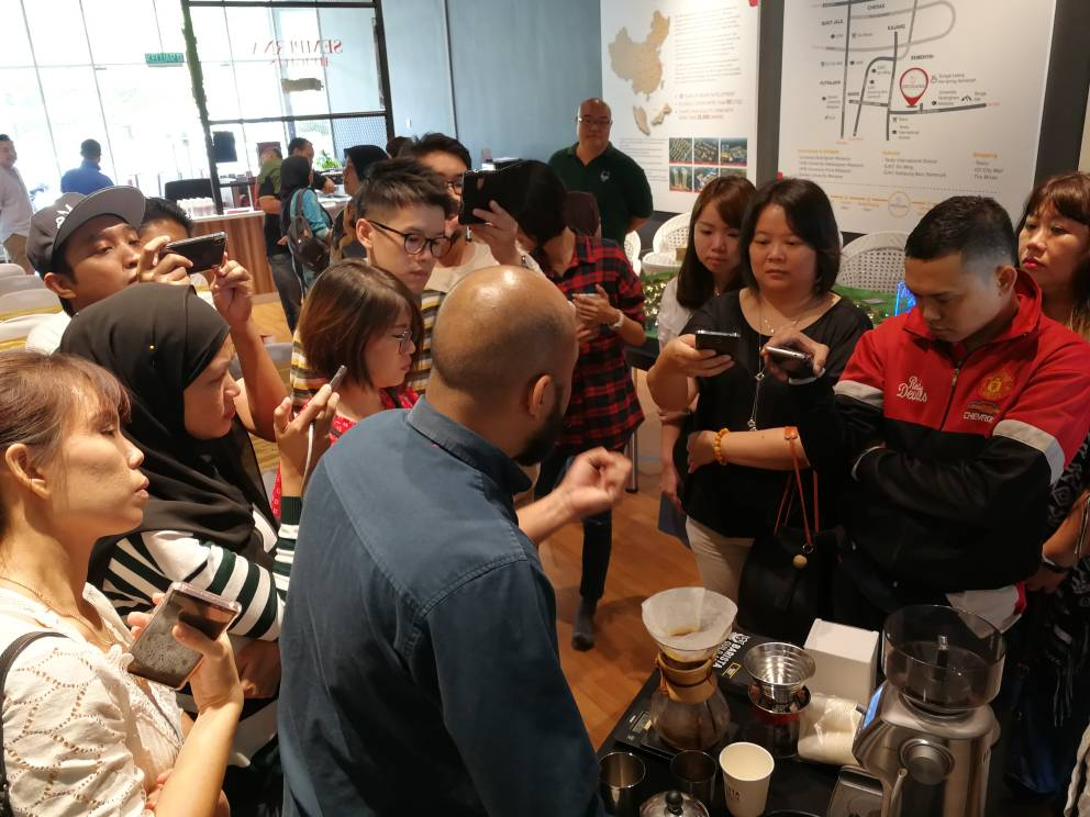 April 2018 Coffee Appreciation Workshop